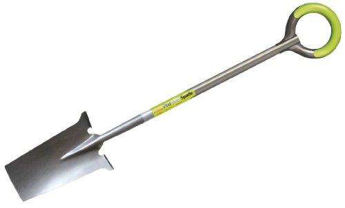 Aidapt Pro-Light Spade Bêche en Acier Carbone avec Poignée Forme Arrondie