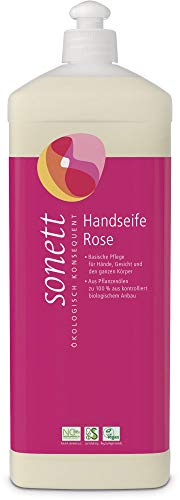 Sonett Bio Handseife Rose (6 x 1000 ml)