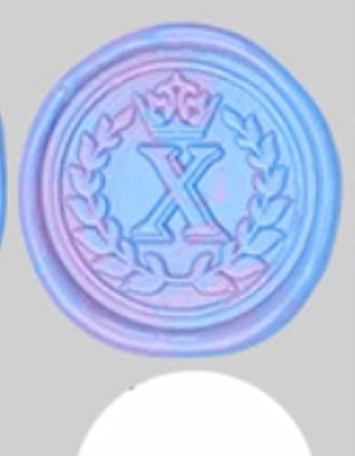 uno de 26 Letras con Corona DIY Scrapbooking Sellado Boda/Invitación/Alfabetos Regalo Cera Sello Metal head-24, China