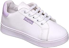حذاء كاجوال للنساء من تيستا تورو 41 EU , أبيض وبنفسجي