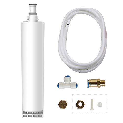 WaterdropRefrigerator Filter bypass accessory kit, 1/4