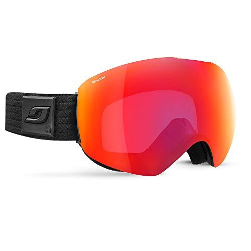 Julbo Skydome Skibril met reactief display, fotochromatisch voor heren, zwart, XXL
