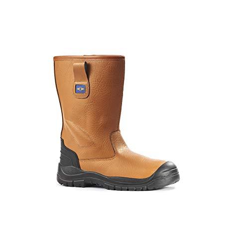 Rock PM1044Sicherheit Stiefel–Honig