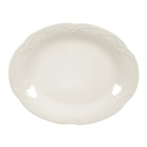 Seltmann Weiden Rubin Cream Servierplatte oval 31,5x24,5 cm