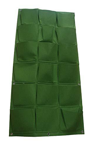 Chiglia Bolsa Vertical Colgante, 18 Bolsillos Colgar en la Pared Bolsas de Plantación de jardín decoración del hogar