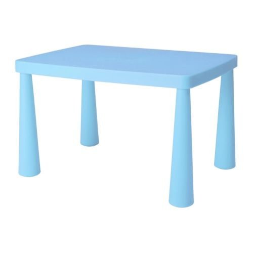 Best Deal Ikea Mammut Blue Kid S Children S Table Oaoaesae