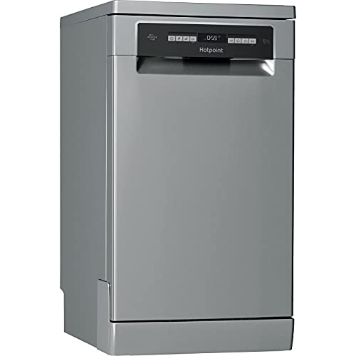 HOTPOINT HSFO3T223WX 10 Place Slimline Freestanding Dishwasher - Stainless Steel [Energy Class A++]