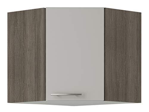 OPTIFIT Kult Küchen-Eck-Hängeschrank »Arta«, beige Glanz, Breite 60 x 60 cm, OED606-9+KUAT