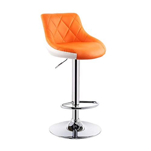 Bar Stool Office Swivel Chair Dining Swivel Chair Swivel Office Chair Swivel Chair Salon Chair Adjustable Height Swivel Chair Furniture Computer Desk Seat Bar Stools With Back 5 Colors