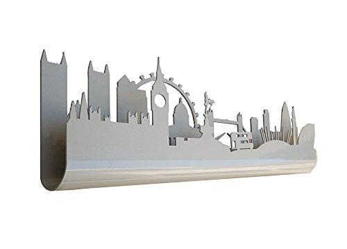 Skyline 3.07 Perchero Decorativo de Pared, diseño London