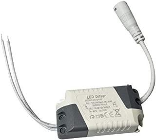 sahnah Dimmable LED Light Lamp Driver Transformer Power Supply 6/9/12/15/18/21W Assure Strip Light Power External DC Connector Driver