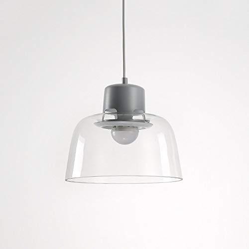 Nordic moderne transparante hanger van glas lamp creatieve moderne macarons kleur metaal hanglamp kroonluchter slaapkamer nachtkastje kantoor studie restaurant decoratie plafondlamp