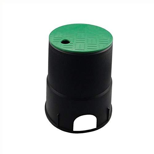 Conector manguera Cubierta de la válvula de riego caja de válvulas de riego subterráneo Cap Tapa de alta calidad de 6 pulgadas del césped del jardín