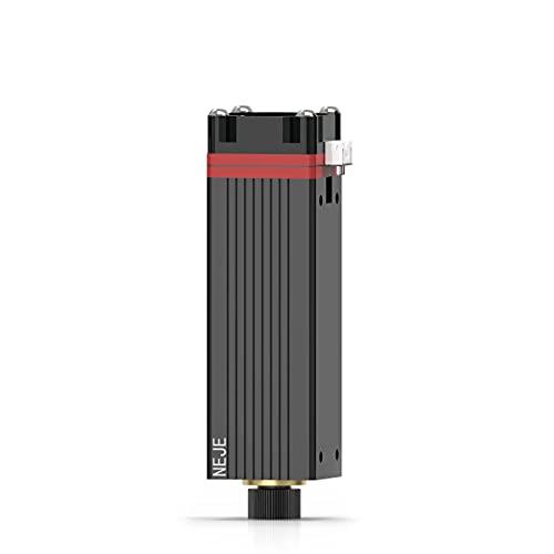 NEJE Testina per modulo laser da 5,5 W, 450 nm, per macchine da incisione laser fai da te della serie Master