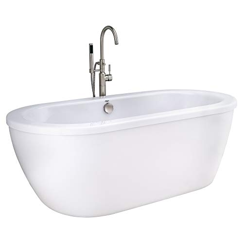 Product Image of the American Standard 2764014M202.011 Cadet Freestanding Tub, Arctic