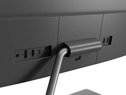 Lenovo Q27h-10 68,58 cm (27 Zoll, 2560×1440, WQHD, 75Hz, WideView, entspiegelt) Monitor (HDMI, DisplayPort, 4ms Reaktionszeit, AMD Radeon FreeSync) grau - 6