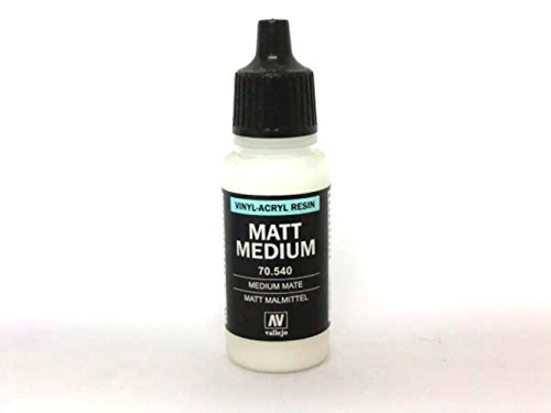 Vallejo, 70540 Matt Medium, Vernice, 17 Ml