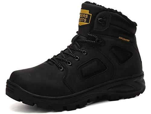 QJRRX Zapatillas de Trekking para Hombres Zapatillas de Senderismo Botas de Montaña Antideslizantes AL Aire Libre Zapatillas de Deporte 40-46