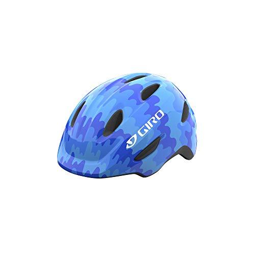 Giro Scamp MIPS Youth Recreational Bike Cycling Helmet - Extra Small (45-49 cm), Blue Splash (2021)