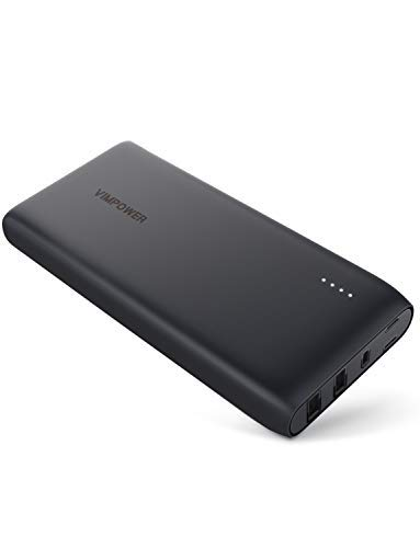 VimPower Portable Charger 22000mAh PD 3.0 Power Bank QC 3.0 30W USB C for iPhone XS Max, XR, X iPad Pro, MacBook, Nintendo Switch