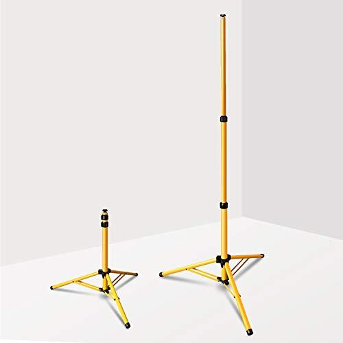 wolketon Teleskop trípode para Foco Trabajo LED, Plegable