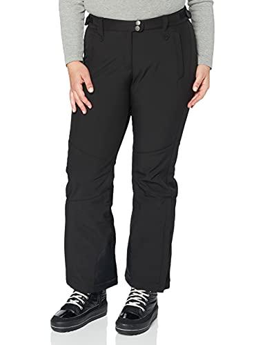 ULLA POPKEN Softshellhose Pantaloni da Neve, Nero (Schwarz 10), 0 (Taglia Produttore: 60) Donna