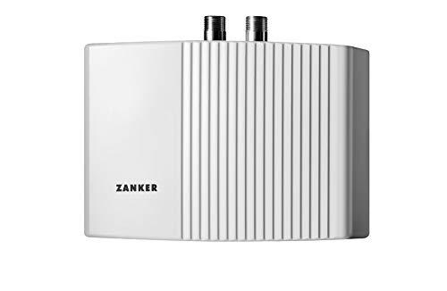 ZANKER hydraulischer Klein-Durchlauferhitzer MDG 44 fürs Handwaschbecken, 4,4 kW, Festanschluss, druckfest/-los, 222124