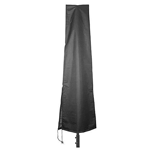 Nubstoer UV-resistant Patio Umbrella Zipper Cover Waterproof fit 6ft to 11ft Umbrellas Canopy Patio Outdoor 190cm