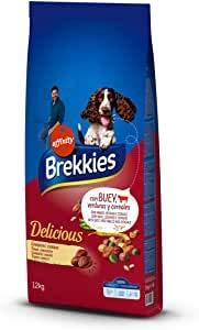 Brekkie Pienso para Perros Delicious con Buey - 12000 gr