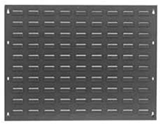 Steel Louvered Wall Panel Without Bins, 27x21 - Lot of 2