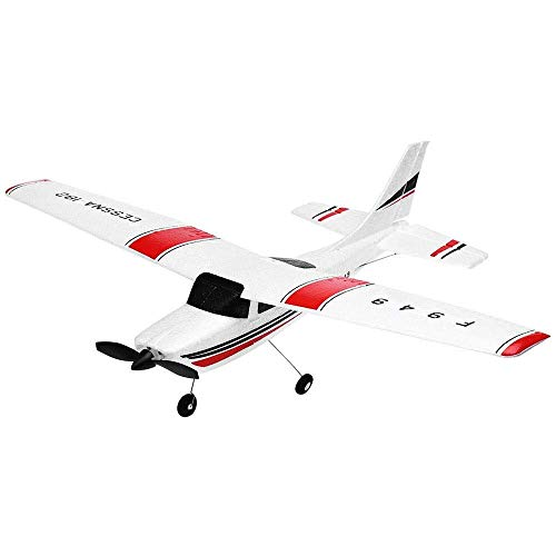 Toy Model Foam Fernbedienung Flugzeuge 2 Kanäle LED-Beleuchtung Child Boy Manöver Elektrischer Anfänger Segelflugzeug 2,4 GHzSimulation Hubschrauber Navigation Modell Flugzeug Toy Long Haul Flight Ch