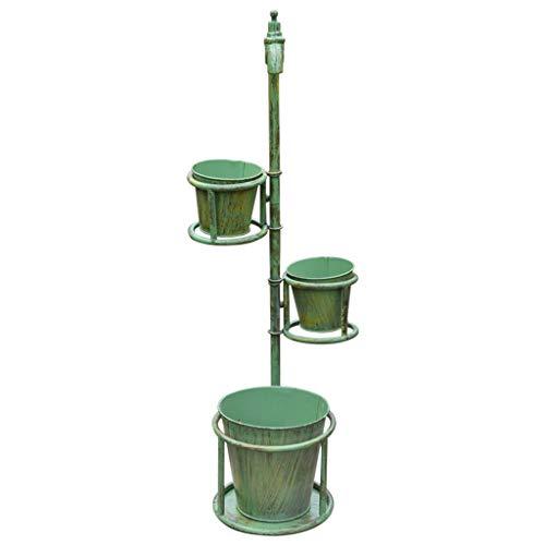 Liefde lamp Bloem Rekken Vintage Oude Smeedijzeren Bloemenstandaard, Tuin Thuis Raam Decoratie Plant Potplanten Stands