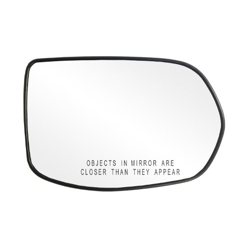 """Fit System 80217 Passenger Side Non-Heated Mirror Glass w/Backing Plate, Honda CR-V, 4 15/16"""" x 7 7/16"""" x 7 5/8"""""""