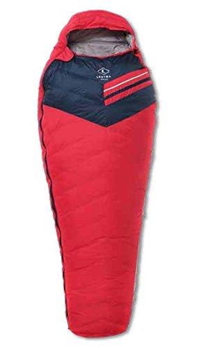 Lestra Aporia Light Sac de Couchage Mixte Adulte, Rouge, Taille 210