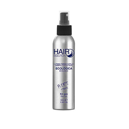 Spray Fijador de Fibras Capilares Hair Solution | Laca para fijación | Hairspray for Hair Fibers