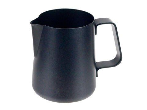 Lattiera per cappuccino Easy nera da 600 ml