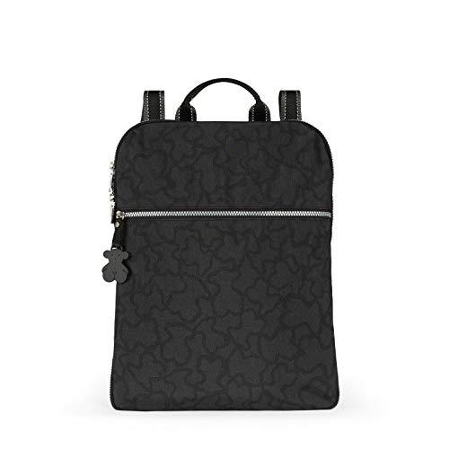 Tous Kn, Bolso mochila para Mujer, Multicolor (Antracita/Negro 695810038), 32x41x13 cm (W x H x L)