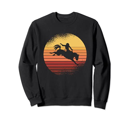 Vintage Western I Rodeo I Vaquero I Caballos Sudadera