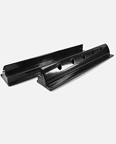 enjoysolar ABS Haltespoiler Solarmodul Halterung sepzial für Wohnmobile Caraven Boot (2er Set Haltespoiler 550mm black)