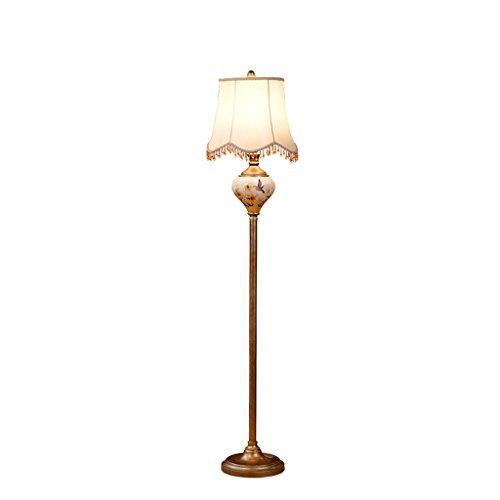 LJ Éclairage intérieur 1.58m européen simple luxe lampadaire pour chambre à coucher et salon (sans ampoule)