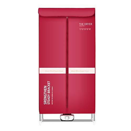 ZXC MNB Home Faltbarer elektrischer Wäschetrockner 1000W große Kapazität 15kg Doppel-Edelstahl-Fernbedienung Innenkleidung Warmluft-Trockenschrank,für Mehrfamilienhäuser,Wohnmobile,Zelte