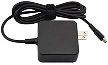 New Type C 20v 2.25A 45W Ac Adapter For: Asus Chromebook Flip C302 C213 C302C C302CA, Transformer 3 Pro T303U,100% Compatible with Asus P/N: ADP-45EB C ADP-45EW A ADP-45EW B