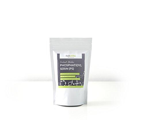 Phosphatidylserin (PS) – Cortisol Blocker von IVOVITAL® (non-gmo/gvo-frei) (100 g)
