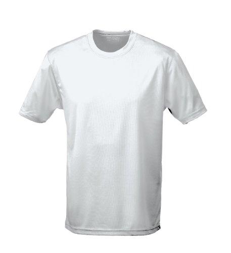 Camiseta transpirable, rendimiento antisudor gris gris XXL