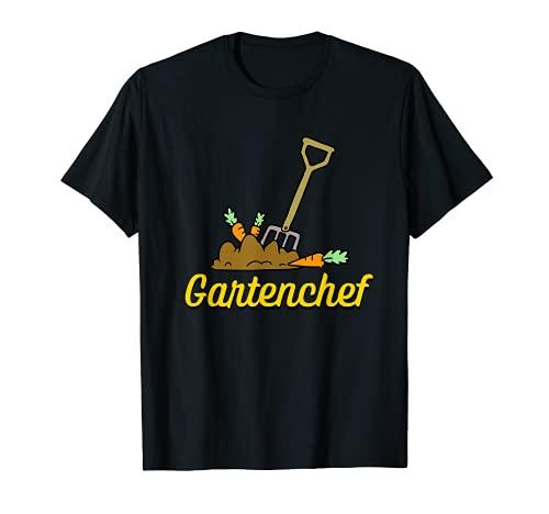 Gartenchef Gärtner Gartenarbeit Hobby Garten Herren T-Shirt