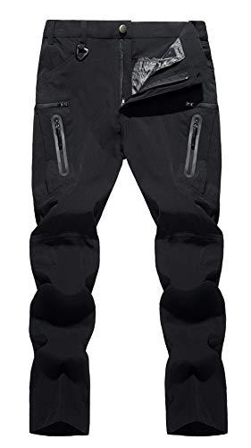 TACVASEN Men's Hiking Pants Quick-Dry Water-Resistant...