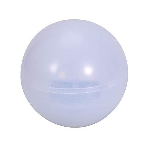 Schwimmendes Schwimmbad, Solar Pond Lights Wasserdichte LED Schwimmende Nachtlichter Party Dekor Lichter LED Ball Kinder Nachtlicht Party Außenpool Garten Patio Ambiente dekorative Beleuchtung(Weiß)