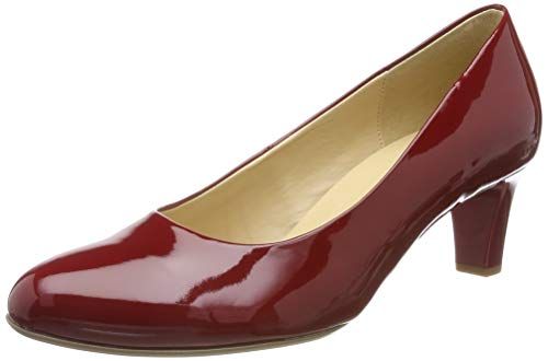 Gabor Shoes Damen Basic Pumps, Rot (Cherry (+Absatz) 75), 40 EU