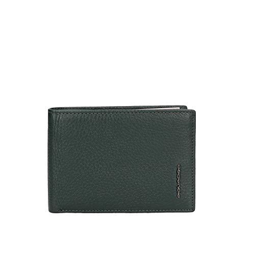 Piquadro Modus Special Porta Assegni, 12 cm, Verde