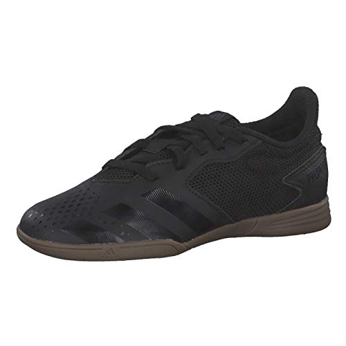 adidas Predator 20.4 IN Sala J, Zapatillas Deportivas, Core Black/Core Black/DGH Solid Grey, 36 2/3 EU